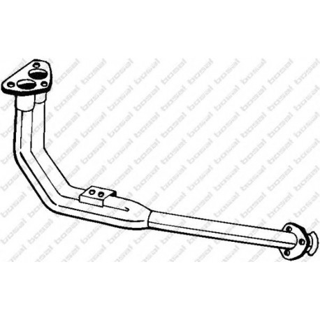 Výfukové potrubie BOSAL 834-845