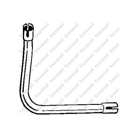 Výfukové potrubie BOSAL 326-383