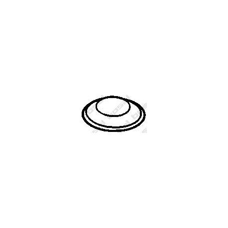 Tesnenie výfukovej trubky BOSAL 256-007