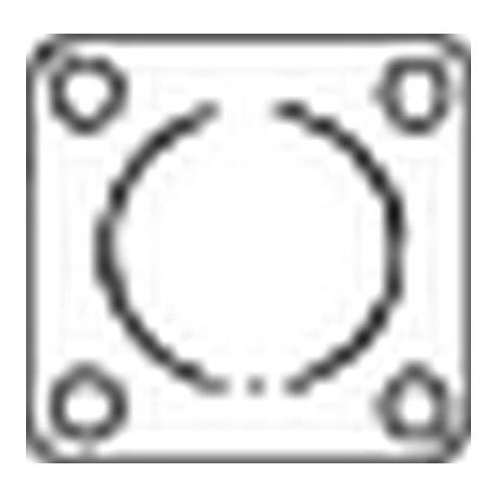 Tesnenie výfukovej trubky BOSAL 256-574